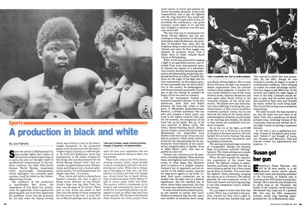 Article Preview: A production in black and white, October 1979 | Maclean's