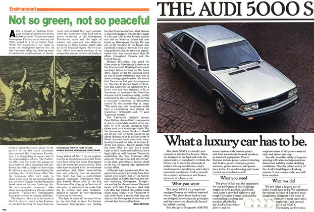 Article Preview: Not so green, not so peaceful, October 1979 | Maclean's