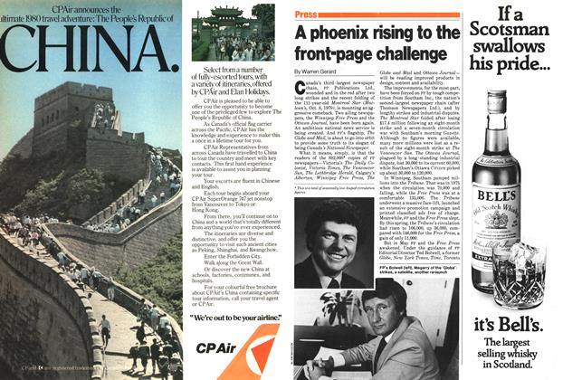 Article Preview: A phoenix rising to the front-page challenge, October 1979 | Maclean's
