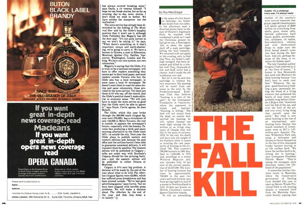Article Preview: THE FALL KILL, October 1979 | Maclean's