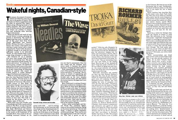 Article Preview: Wakeful nights, Canadian-style, October 1979 | Maclean's