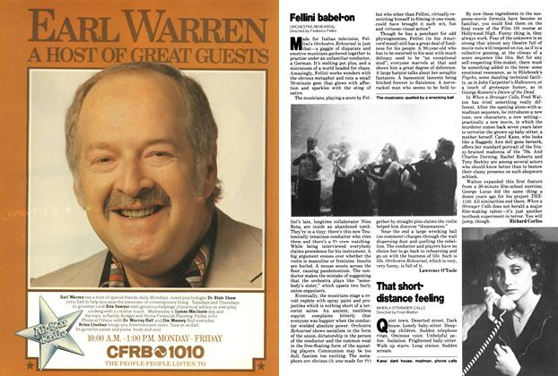 Article Preview: That short-distance feeling, October 1979   Maclean's