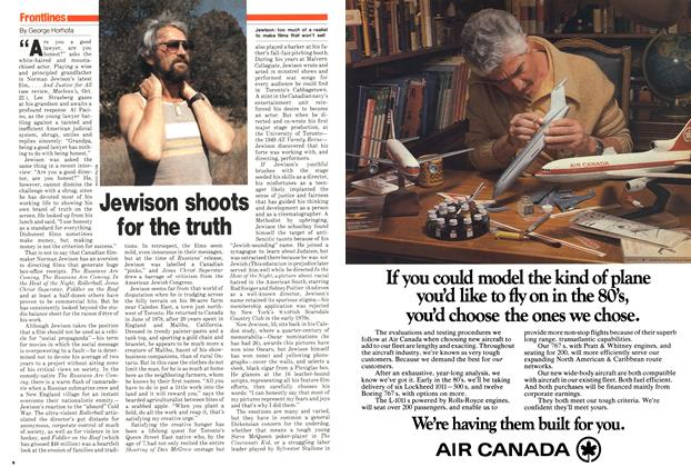 Article Preview: Jewison shoots for the truth, October 1979 | Maclean's
