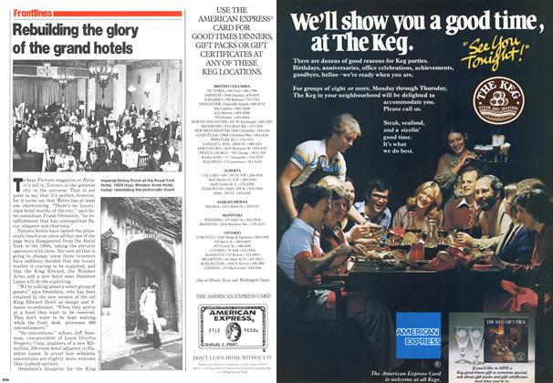 Article Preview: Rebuilding the glory of the grand hotels, November 1979 | Maclean's