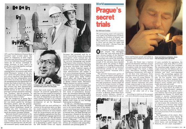 Article Preview: Prague's secret trials, November 1979 | Maclean's