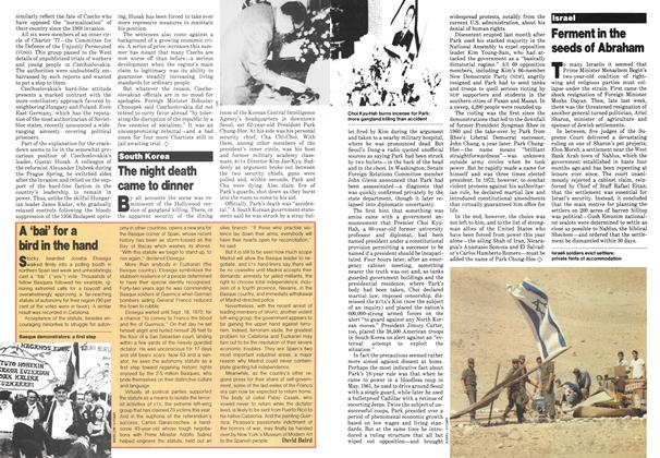 Article Preview: A 'bai' for a bird in the hand, November 1979 | Maclean's