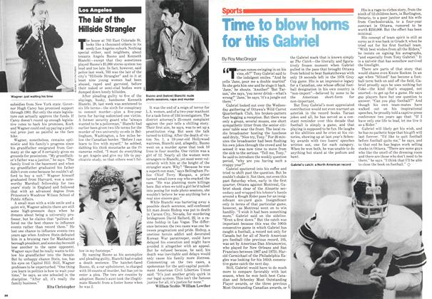 Article Preview: Time to blow horns for this Gabriel, November 1979 | Maclean's