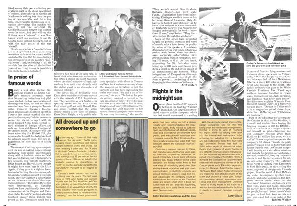 Article Preview: All dressed up and somewhere to go, November 1979   Maclean's