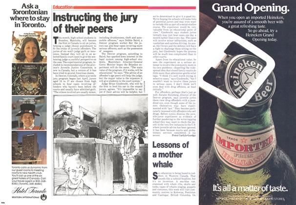Article Preview: Instructing the jury of their peers, November 1979 | Maclean's
