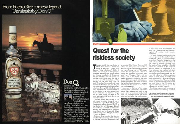 Article Preview: Quest for the riskless society, November 1979 | Maclean's