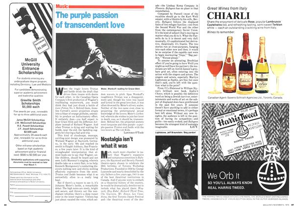 Article Preview: The purple passion of transcendent love, November 1979 | Maclean's