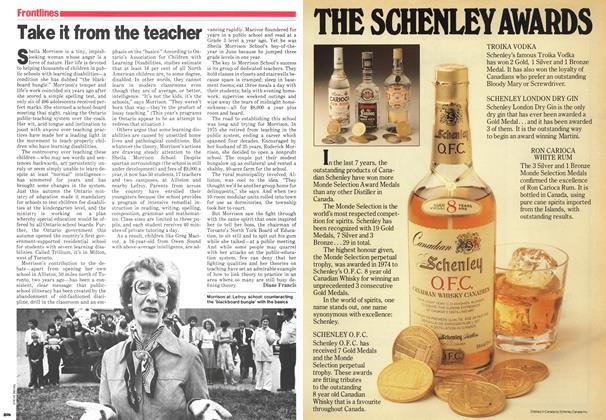 Article Preview: Take it from the teacher, November 1979 | Maclean's