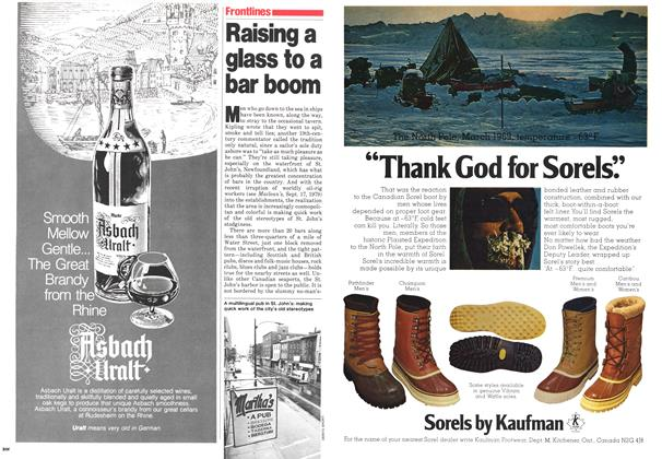 Article Preview: Raising a glass to a bar boom, November 1979 | Maclean's