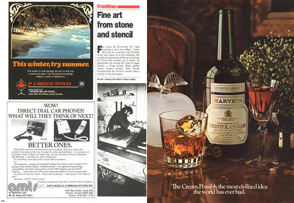 Article Preview: Fine art from stone and stencil, November 1979 | Maclean's