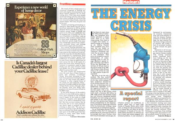 Article Preview: THE ENERGY CRISIS, November 1979   Maclean's