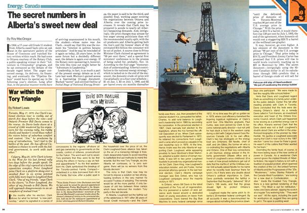Article Preview: The secret numbers in Alberta's sweet new deal, November 1979 | Maclean's