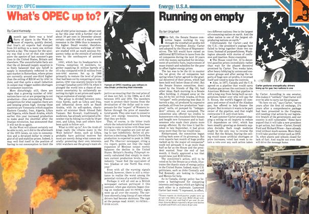 Article Preview: Running on empty, November 1979 | Maclean's