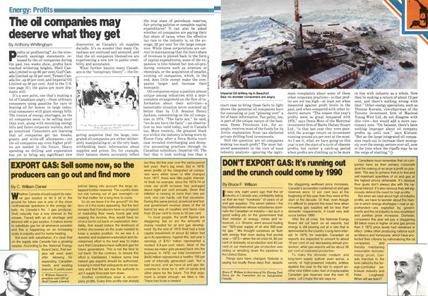 Article Preview: The oil companies may deserve what they get, November 1979   Maclean's