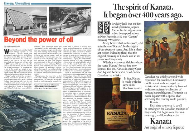 Article Preview: Beyond the power of oil, November 1979 | Maclean's