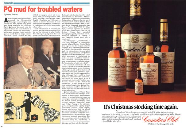 Article Preview: PQ mud for troubled waters, November 1979 | Maclean's