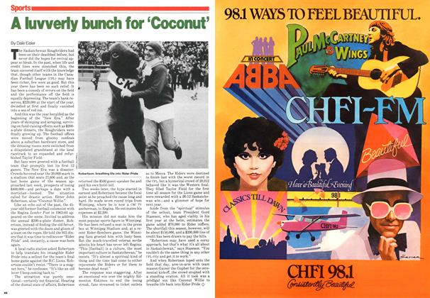 Article Preview: A luvverly bunch for 'Coconut', November 1979 | Maclean's