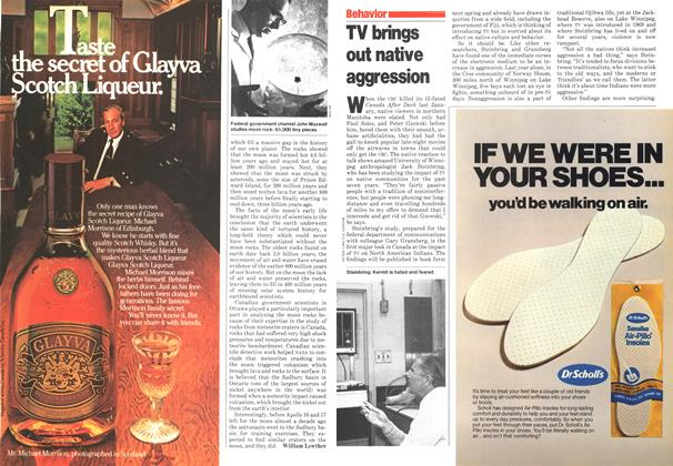 Article Preview: TV brings out native aggression, November 1979 | Maclean's
