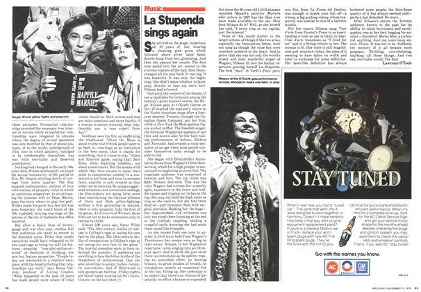 Article Preview: La Stupenda sings again, November 1979 | Maclean's
