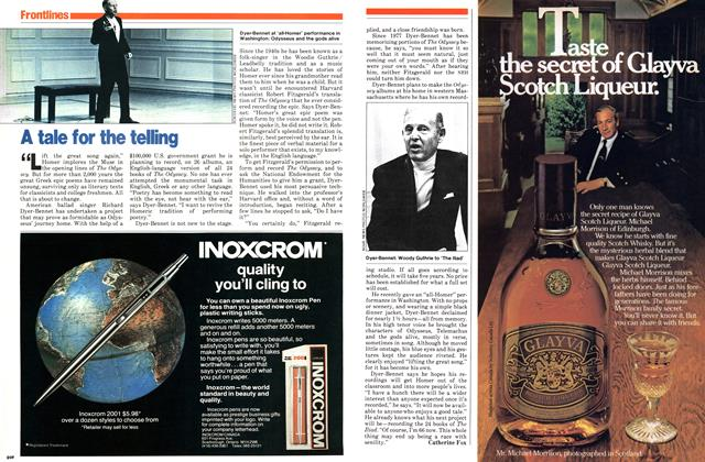 Article Preview: A tale for the telling, November 1979 | Maclean's