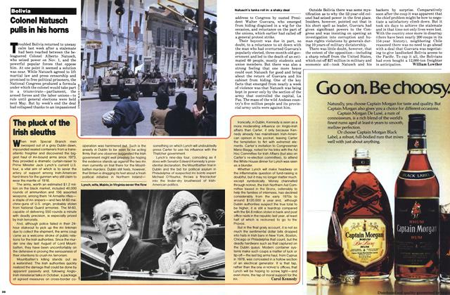 Article Preview: The pluck of the Irish sleuths, November 1979 | Maclean's