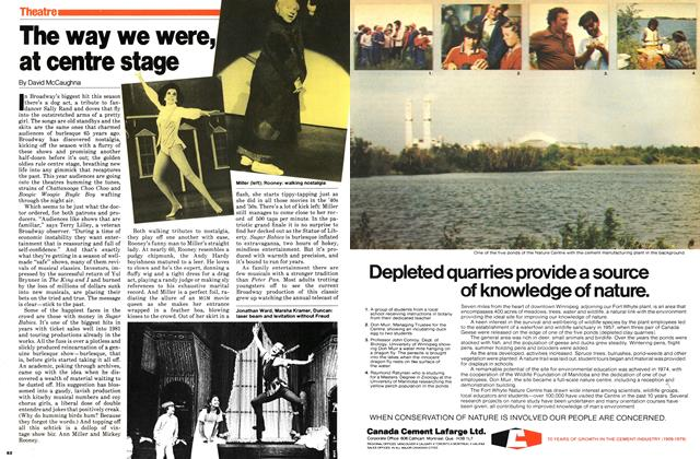 Article Preview: The way we were, at centre stage, November 1979 | Maclean's