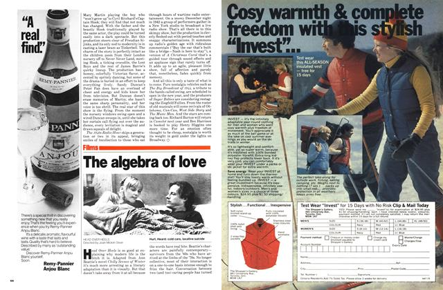 Article Preview: The algebra of love, November 1979 | Maclean's