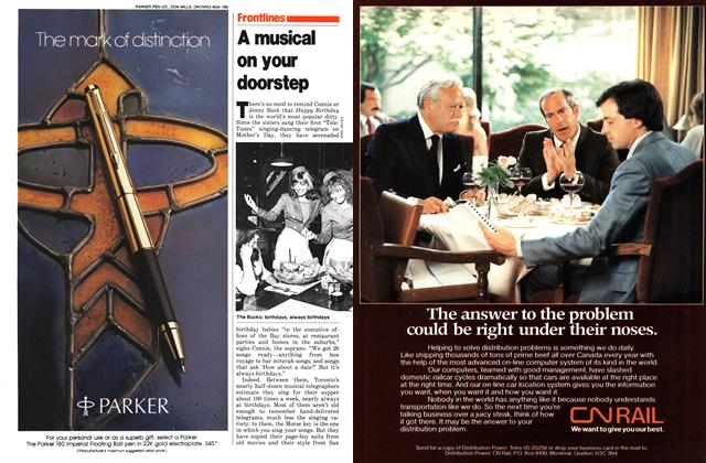 Article Preview: A musical on your doorstep, November 1979 | Maclean's