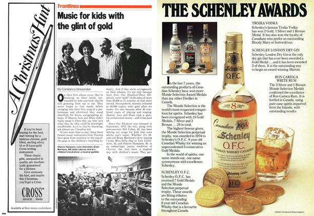 Article Preview: Music for kids with the glint of gold, November 1979 | Maclean's