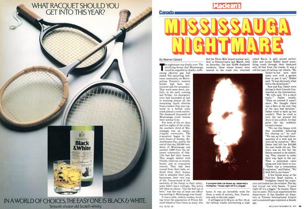 Article Preview: MISSISSAUGA NIGHTMARE, November 1979 | Maclean's