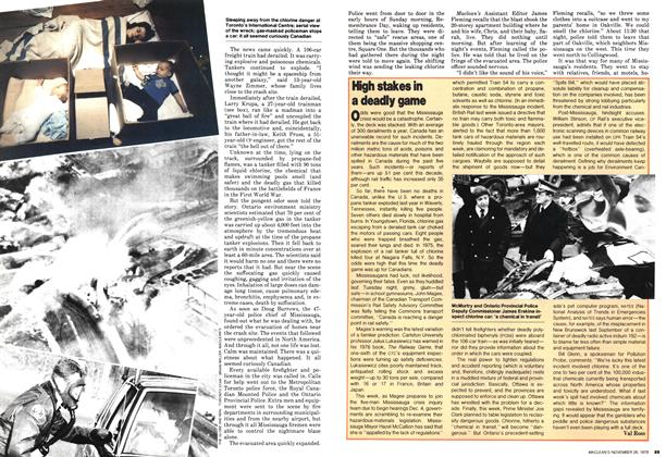 Article Preview: High stakes in a deadly game, November 1979 | Maclean's