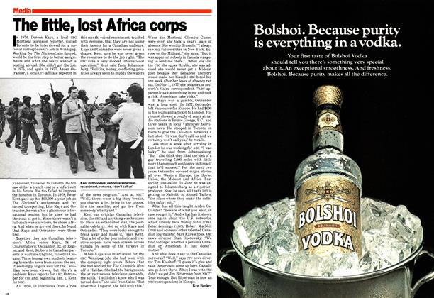 Article Preview: The little, lost Africa corps, November 1979 | Maclean's