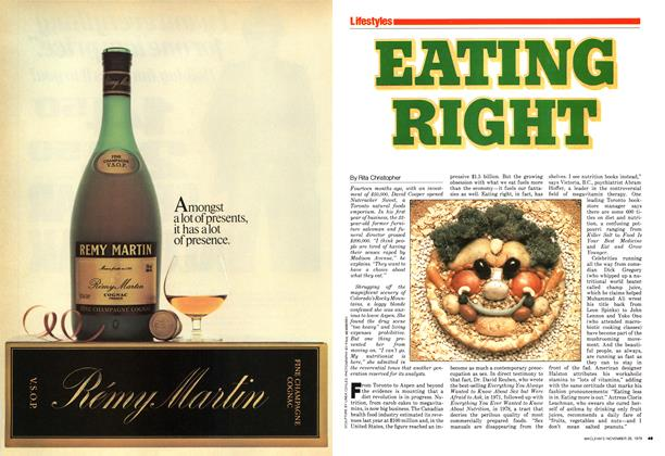 Article Preview: EATING RIGHT, November 1979 | Maclean's