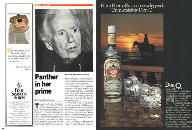 Article Preview: Panther in her prime, December 1979 | Maclean's