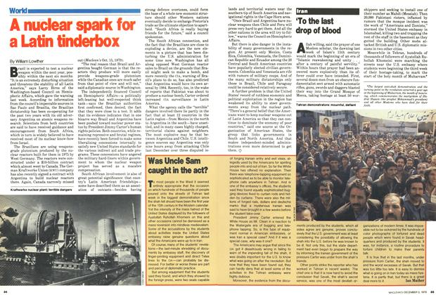 Article Preview: A nuclear spark for a Latin tinderbox, December 1979 | Maclean's