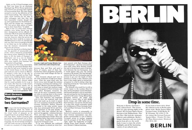 Article Preview: One roof for two Germanies?, December 1979 | Maclean's