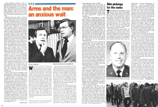 Article Preview: Arms and the man: an anxious wait, December 1979 | Maclean's