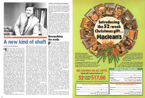 Article Preview: Monopolizing the media, December 1979 | Maclean's
