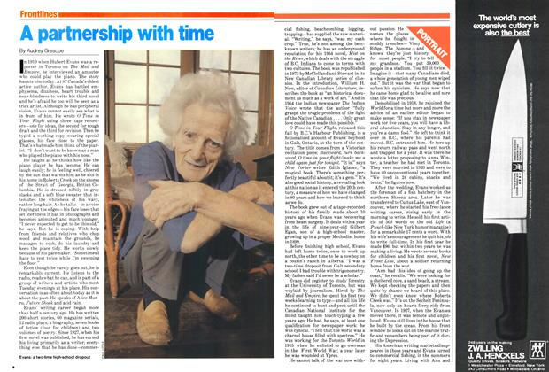 Article Preview: A partnership with time, December 1979 | Maclean's