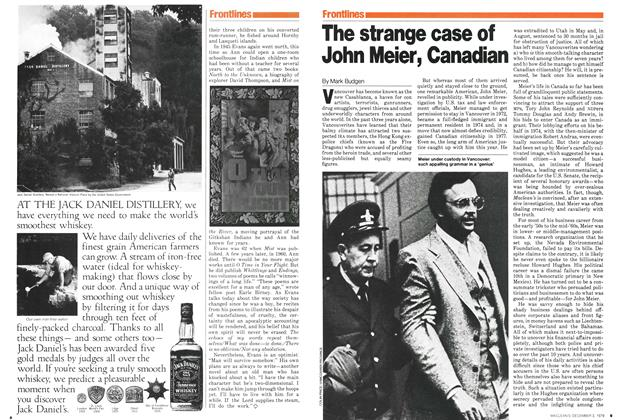 Article Preview: The strange case of John Meier, Canadian, December 1979 | Maclean's
