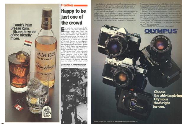 Article Preview: Happy to be just one of the crowd, December 1979 | Maclean's