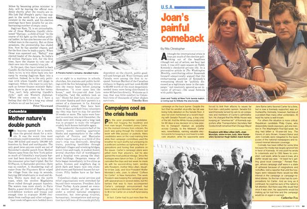 Article Preview: Joan's painful comeback, December 1979 | Maclean's