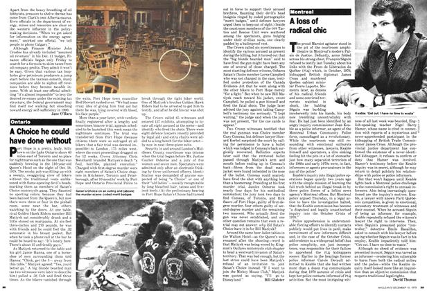 Article Preview: A loss of radical chic, December 1979   Maclean's