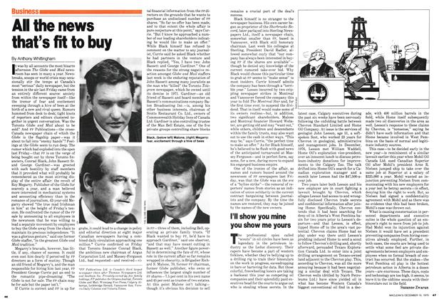 Article Preview: All the news that's fit to buy, December 1979 | Maclean's