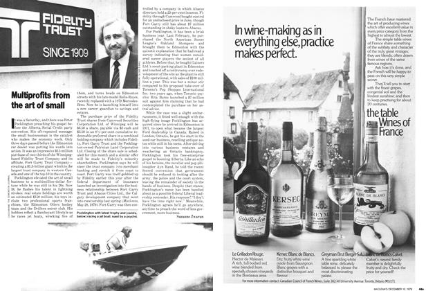 Article Preview: Multiprofits from the art of small, December 1979 | Maclean's
