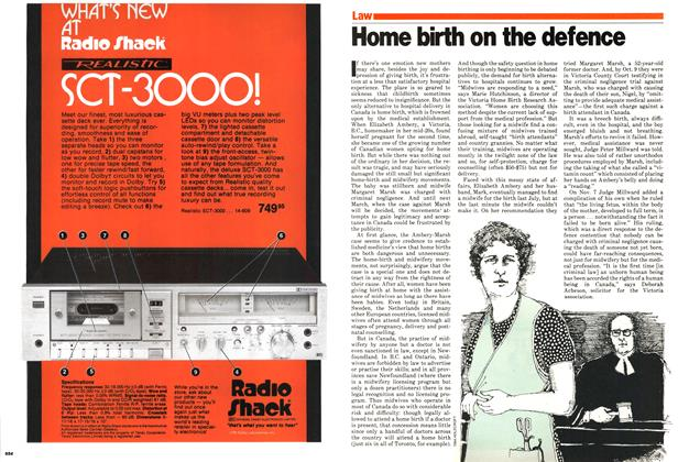 Article Preview: Home birth on the defence, December 1979 | Maclean's